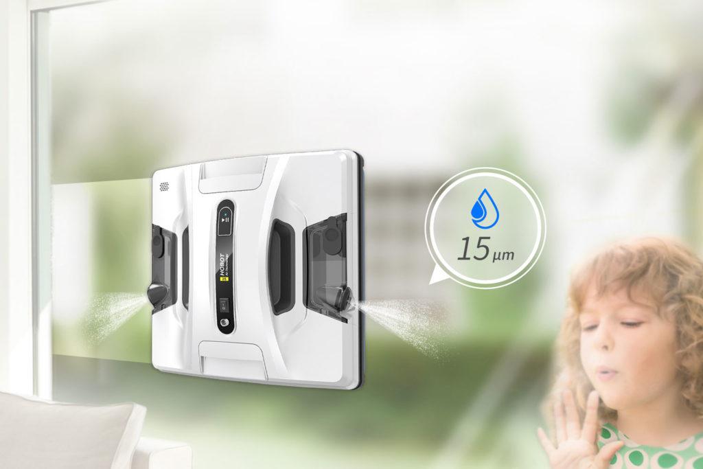 Robotický čistič okem HOBOT 2S duální rozprašovač vody